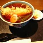生そば 冨士川 - 天婦羅蕎麦