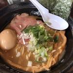 80703282 - 濃厚鷄魚介ラーメン(醤油)+味玉
