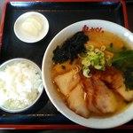 鬼がらし 本店 - 料理写真:みそチューシューノン辛970円