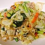 中華厨屯知 - 『ちゅうとんち塩焼きそば』野菜も麺もあっさりたっぷり食べれちゃう♡