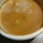 つけ麺一燈 - スープ割り後