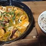 ポカ フレール - ブイヤベース。あえて明日香村で食べなくてもよかったかも(^_^;)