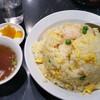 中国料理 登龍 - 料理写真:ドドーン!海老炒飯大盛り750円+100円(大盛り)