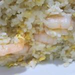 中国料理 登龍 - 普通の炒飯と海老炒飯迷ったけど海老♡にして良かった