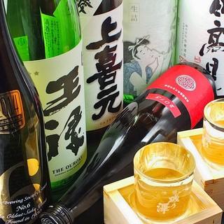 海鮮料理に合うお酒を多数ご用意しております!