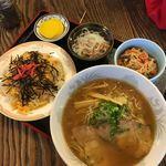 もとなり - 料理写真:ラーメン定食