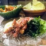 鶏料理・焼き鳥 つくし - ホタルイカの酢味噌和え