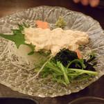 縁の鈴なり - 京都から取り寄せている生湯葉刺身は絶品です