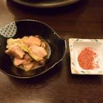 縁の鈴なり - 旨辛鍋は一味を掛けて頂きました