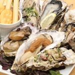 牡蠣料理5種盛り