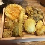 80711444 - 季節の天ぷら定食