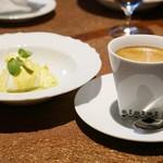SETTE COLLI - コーヒーとパンナコッタ