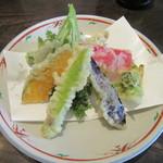 光林 - 「季節の野菜天ぷら」(小)」