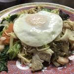 味香園 - 五目焼き麺
