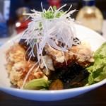 餃子バル 大豊記 - 鶏唐揚げ 葱ソース