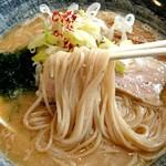 80713574 - 中華そば 味噌《麺》【Feb.2018】