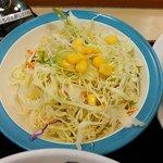 松屋 - 野菜は結構なボリュウム