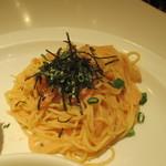 80714765 - ズワイ蟹と明太子のスパゲティ