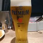 一風堂 - 2018年2月 生ビール 500円