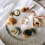 80715148 - ヴェネツィア風魚介の前菜の盛り合わせ