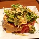 自家製ローストビーフとお酒のお店 ニクニク - オリジナルグリーンサラダ