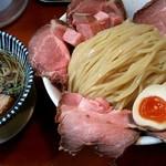 麺食堂 88 - 「特製つけそば(大盛り)」+「チャーシュートッピング」+「麺100g」