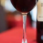 ヌーベルシノワ Ishibashi - 高脚杯(ぐらす)に紅葡萄酒(さけ)
