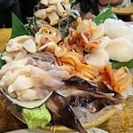 タカマル鮮魚店 - 活貝刺盛     ¥2980