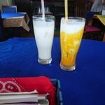 コート・デ・サラ - ゴアセット 2570円の好きな飲み物  マンゴーラッシーと ラッシー