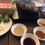 しゃぶ葉 - 料理写真:平日ランチコース