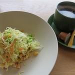 キケロ - ジャーサラダ+コーヒー