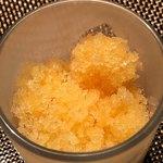 TEPPAN&WINE MASA - 柑橘のグラニテ