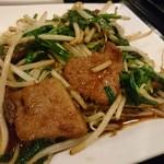 美食天地 遙華 - ニラレバのアップ
