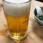 大衆割烹 三州屋 - サッポロ生ビール(中)