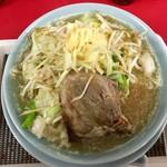 粉工房 イケ麺 - 鬼山野菜そば(そこそこ)