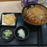 ゆで太郎 - こちらは僕の朝蕎麦おろし330円です❗
