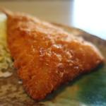 寿司懐石 かご家 - アジフライアップ