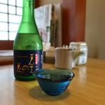 寿司懐石 かご家 - まんさくの花(秋田)冷酒