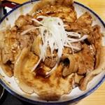 銀の舞 - 銀の舞豚丼醤油MIX 950円