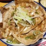 銀の舞 - 葱塩豚丼MIX 950円