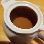 銀の舞 - お茶漬け用の出汁