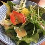 鮨処美好 - ランチ  サラダ付き