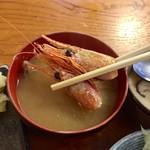鮨処美好 - 味噌汁