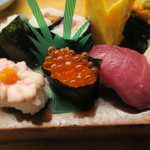 蛇の目寿司 - タラキクが新鮮でした
