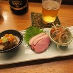 蛇の目寿司 - お通しです