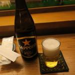 蛇の目寿司 - 瓶ビール