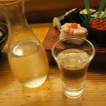 蛇の目寿司 - 日本酒