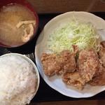 南蛮食堂 - 和風鶏のから揚げ定食
