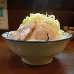 らーめん 陸 - 麺マシマシ+ヤサイの標高