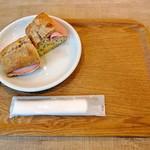 カフェ セレクト - サンドウィッチモーニング (ドリンク付)